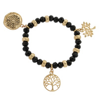 BEADED TREE OF LIFE STRETCH BR
