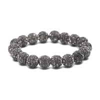 STONED BALL BEADED STRETCH BR