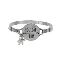 FOLLOW HIM WIRE BRACELET