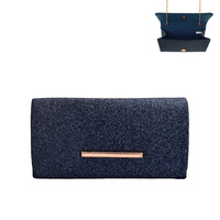 MINIMALIST GLIMMER EVENING BAG