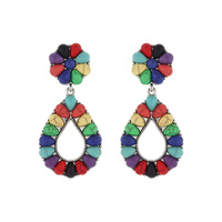 WESTERN TQ TEARDROP EARRINGS