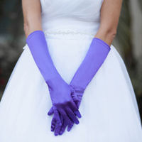 MEDIUM SATIN GLOVES