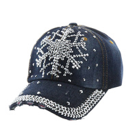 SNOW FLOW DENIM CAP
