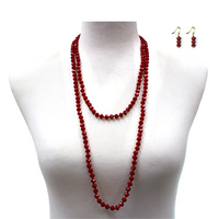 60 INCH 8MM ENDLESS BEAD NK SET