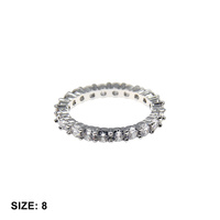 1 LINE CZ SIZED RING