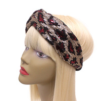 SEQUIN PRINT HEADBAND