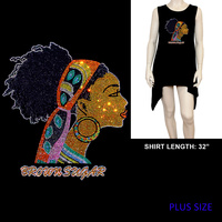 PLUS SHIRT BROWN SUGAR HEADWRAP